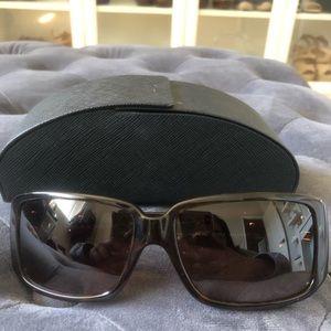 Tortoise Prada Sunglasses